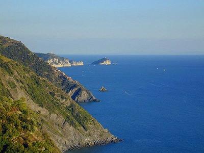 il sentiero di crinela delle Cinque Terre